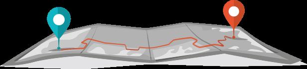 Liefergebiete Rollgerüste